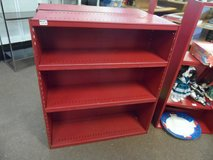 METAL SHELVING (RED PAINT) 2 AVAILABLE in Cherry Point, North Carolina