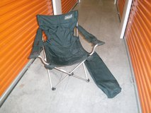 Coleman camping chair with bag in Sugar Land, Texas
