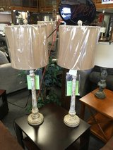 A Pair of Lamps in Fort Leonard Wood, Missouri