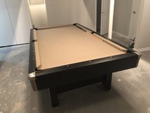 Pool Table with sticks, etc. in Naperville, Illinois