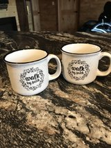 Soup/Coffee Mugs set of 2 (New) Walk by Faith in Fort Leonard Wood, Missouri