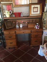 Very nice desk in great condition20 inches deep 54 inches wide 30 inches call seven drawers in Houston, Texas