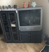 Tv and entertainment center in Travis AFB, California
