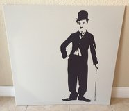 Charlie Chaplin Art in 29 Palms, California