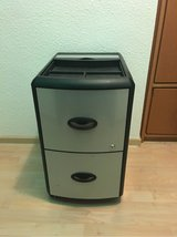 2 drawer file cabinet on wheels in Stuttgart, GE