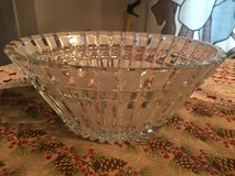 Russian Vintage Crystal Bowl in Vacaville, California