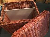 Wicker File Boxes in St. Charles, Illinois
