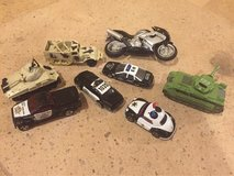 Lot of 8 hot wheels, Tonka and more mini toy cars in Morris, Illinois