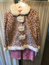 ***BRAND NEW ***Toddler Girl Kitty Cat Outfit SZ 4T in Kingwood, Texas