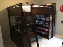 Pottery Barn Teen Loft Bed w/Desk in Spring, Texas