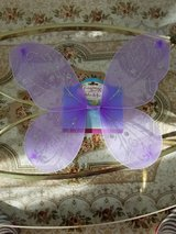 Child's Purple Fairy Wings - Brand New - Never Worn - Great For Dress Up Or Costumes in Plainfield, Illinois