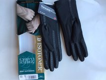 New Black Stretch Classic Isotoner Gloves in Orland Park, Illinois