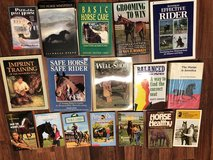 HORSE BOOKS 92 Different Horse Books obo in Fort Knox, Kentucky