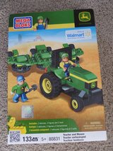 Mega Bloks John Deere Tractor and Mower NEW in Kingwood, Texas