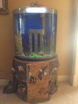 Fish tank with stand and accessories in Columbus, Georgia