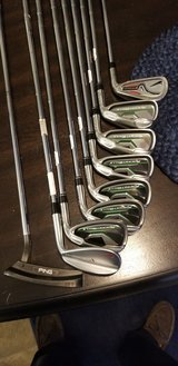 Golf iron set in 29 Palms, California