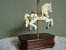 Vintage Carousel Horse Music Box in Lackland AFB, Texas