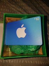 apple gift card in Fort Campbell, Kentucky