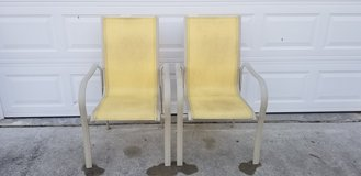 2ea Outdoor Patio Stackable Chairs in Camp Lejeune, North Carolina