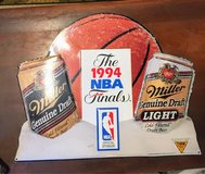 large Tin NBA/ MILLER BEER in Cherry Point, North Carolina