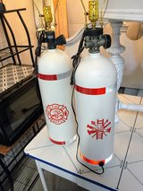 real scba  tanks up cycled lamps in Cherry Point, North Carolina