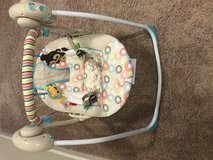 Baby swing chair in Fort Jackson, South Carolina