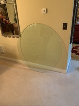 43 inch round glass table top in Naperville, Illinois
