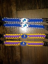 NFL Paracord BRACELETS!! in Fort Campbell, Kentucky