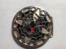 Black Widow Belt Buckle (Spins) in Fort Leonard Wood, Missouri