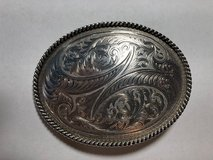Montana SilverSmith Silver Belt Buckle in Fort Leonard Wood, Missouri