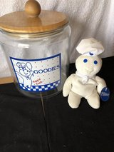 Pillsbury Cookie Jar and Plush Doughboy in Byron, Georgia