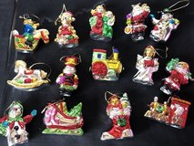 Vintage Cermanic Christmas Ornaments in Byron, Georgia
