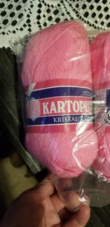 Brand New Yarn- Kartopu Kristal Yarn in Peoria, Illinois