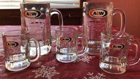A & W mugs in Altus, Oklahoma