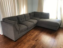 Gray Sectional Couch in Oceanside, California