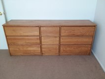 NICE QUALITY OAK DRESSER in 29 Palms, California