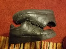 All black Air Force Ones Size 12 in Fort Campbell, Kentucky