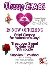Classy Chaos Paint Classes in Fort Polk, Louisiana