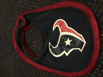 Texans bib and Christmas outfit in Baytown, Texas