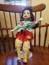 Ooak doll porcelain repurposed by me clown doll make offer in Camp Lejeune, North Carolina