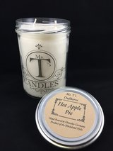 Ms. T's Candle, Hot Apple Pie, Handmade, Hand Poured, Scented Candle in Baumholder, GE