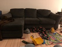 large L shaped couch for sale in Ramstein, Germany