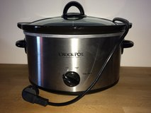 Crock Pot 3.5-Liter Stainless Steel Slow Cooker, 220-volt, Silver - USED in Vicenza, Italy