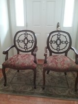Pair of accent arm chairs in Quantico, Virginia