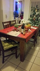 Full size dining room table with four chairs in Wiesbaden, GE