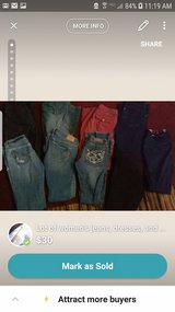 Lot of women's jeans, dresses, and assorted cloths in Fort Campbell, Kentucky