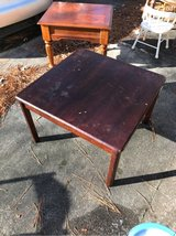 wood table in Cherry Point, North Carolina