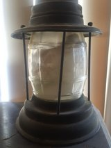 Very Old vintage Railroad lamp in Barstow, California