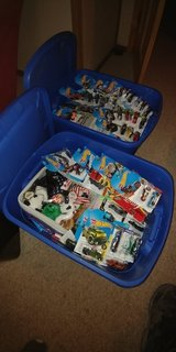 Lot of hot wheels cars + ty babies in Fort Polk, Louisiana