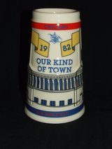 Chicago Our Kind of Town Stein Soldier Field WrigleyField Comiskey Park 1982 LTD Ed. in Naperville, Illinois